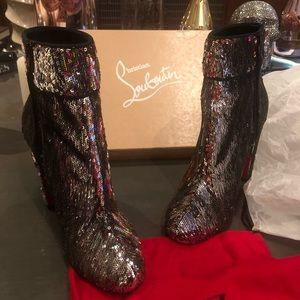 Christian Louboutin Shoes - SOLD ! Christian Louboutin boots size 8 / 38